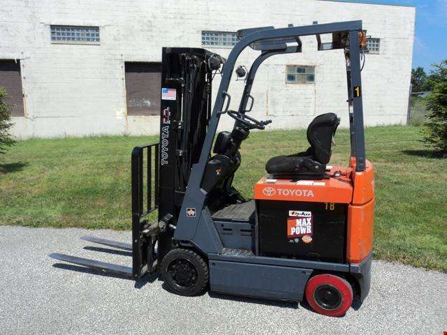 Used Toyota 4 Wheel Electric Forklift