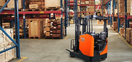 Columbus forklift rentals rent equipment rent lift for Motorized hand truck rental