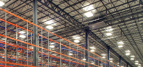 Warehouse Energy Efficient Lighting