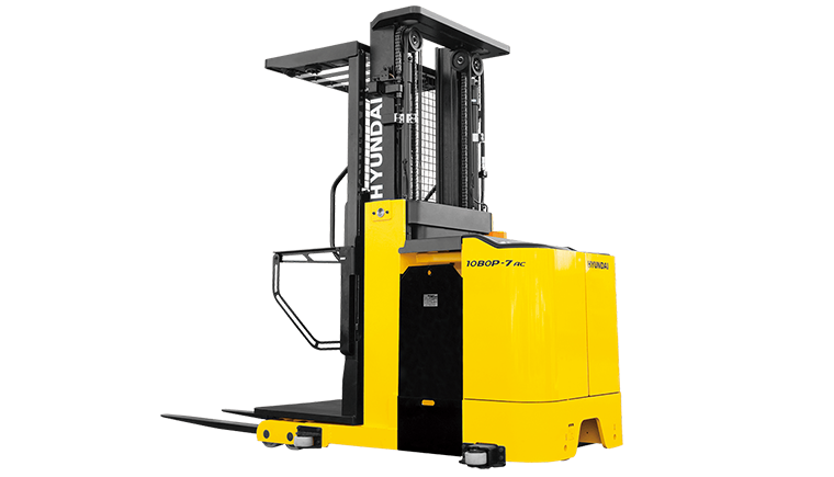 Hyundai Order Picker Electric Forklift | KMH Systems, Inc