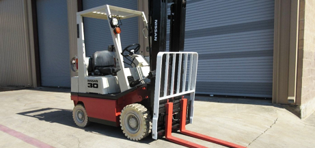 Pneumatic Tire Forklift