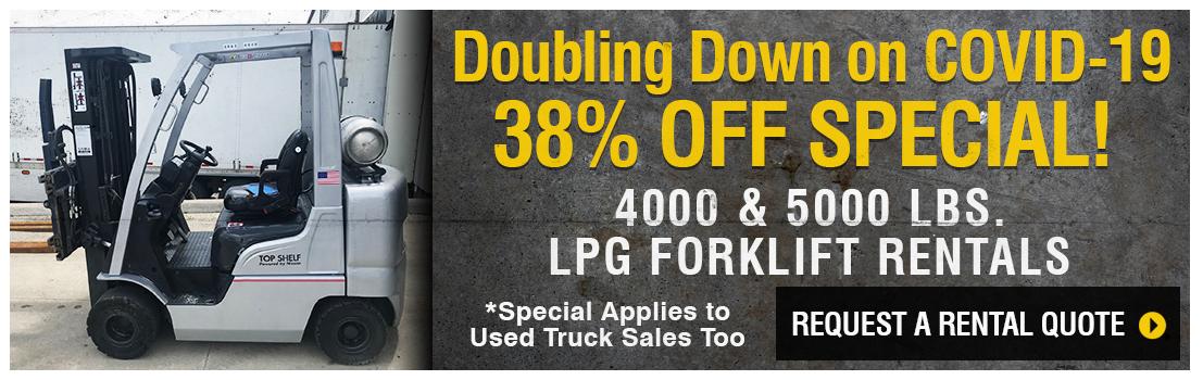 Columbus Forklift Rentals