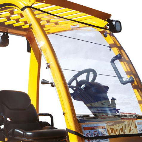 Forklift Windshield Canopy